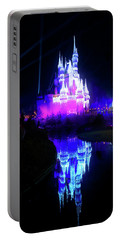 Portable Battery Charger featuring the photograph A Disney New Year by Mark Andrew Thomas