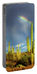 Portable Battery Charger featuring the photograph A Divine Touch by Rick Furmanek