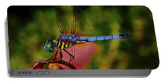 Portable Battery Charger featuring the photograph A Dragonfly 028 by George Bostian