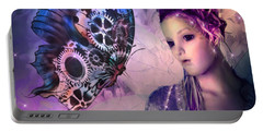 A Fairy Butterfly Kiss Portable Battery Charger