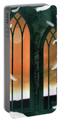 A Fallen Angel Portable Battery Charger