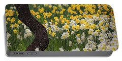 A Field Of Daffodils Portable Battery Charger