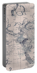A Fishermans Map Portable Battery Charger