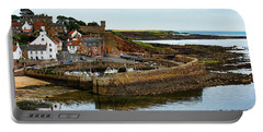 A Fishing Village Named Crail In East Nuek Of Fife Scotland Portable Battery Charger