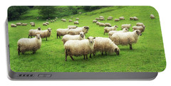 A Flock Of Sheep Portable Battery Charger