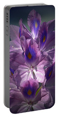 A Floral Splendor Portable Battery Charger