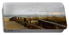 A Foggy Day Portable Battery Charger