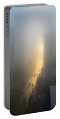 A Foggy Start To The Day In Vancouver Portable Battery Charger