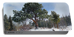 Portable Battery Charger featuring the photograph A Fresh Blanket Of Snow by Shane Bechler