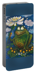 Frog In The Rain Portable Battery Charger