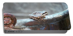 A Frog On A Pot Portable Battery Charger