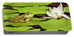 A Frog's Peace Portable Battery Charger