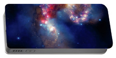 Portable Battery Charger featuring the photograph A Galactic Spectacle by Marco Oliveira