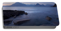 A Gentle Sunset At Elgol  Portable Battery Charger