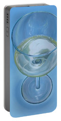A Glass Of Wine Is Fine Portable Battery Charger