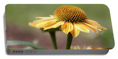 A Golden Echinacea -  Portable Battery Charger
