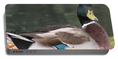 A Handsome Mallard Portable Battery Charger