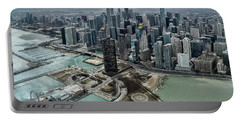 A Helicopter View Of Chicago's Lakefront Portable Battery Charger