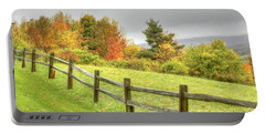 A Highland Forest Autumn Portable Battery Charger