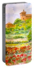 A Hillside Near San Gimignano Portable Battery Charger
