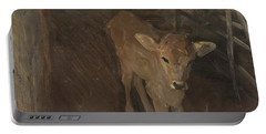A Jersey Calf, 1893 Portable Battery Charger by John Singer Sargent