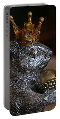 A King For A Day Portable Battery Charger by Yvonne Wright