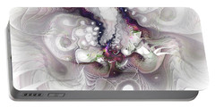 A Leap Of Faith - Fractal Art Portable Battery Charger by NirvanaBlues