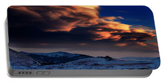 A Lenticular Landscape Portable Battery Charger
