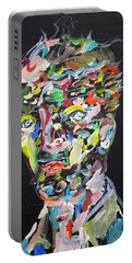 Portable Battery Charger featuring the painting A Life Full Of Oppurtunities by Fabrizio Cassetta