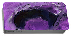 A Lifeless Planet Purple Portable Battery Charger