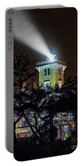 Portable Battery Charger featuring the photograph A Light In The Darkness by Nick Zelinsky