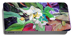 A Little Orchid Portable Battery Charger by Mindy Newman