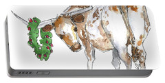 A Longhorn Christmas Leader, Come On In Portable Battery Charger