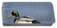 A Mallard Duck Portable Battery Charger