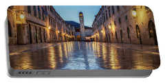 A Morning On Stradun Portable Battery Charger