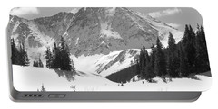 Portable Battery Charger featuring the photograph A Mountain Is A Buddha by Eric Glaser