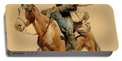 A Mounted Infantryman Portable Battery Charger