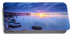 Portable Battery Charger featuring the photograph A New Dawn by Edward Kreis