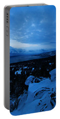 Portable Battery Charger featuring the photograph A New Day Dawns Over The Village by Sean Sarsfield