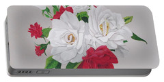 A New Rose Bouquet Portable Battery Charger