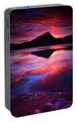 Portable Battery Charger featuring the photograph A New Start by John De Bord
