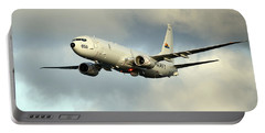 A P-8a Poseidon In Flight Portable Battery Charger