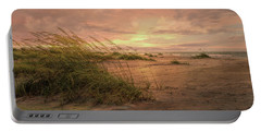 A Painted Sunrise Portable Battery Charger