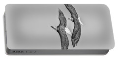A Pair Of American Bald Eagles 2017-1 Portable Battery Charger