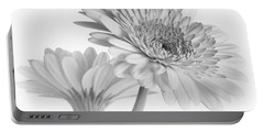 A Pair Of Daisies Portable Battery Charger by David and Carol Kelly