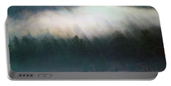 Portable Battery Charger featuring the photograph A Patch Of Fog by Shane Bechler