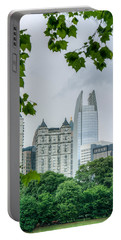 A Peek At The Atlanta Skyline Portable Battery Charger