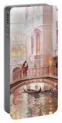 A Perfect Afternoon In Venice Portable Battery Charger