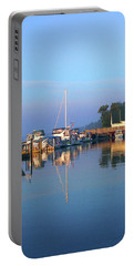 A Perfect Tawas Morning Portable Battery Charger