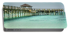 A Pier In The Bahamas Portable Battery Charger